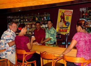 Bar at Sadie Thompson Inn