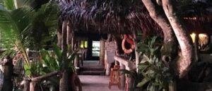 The bar at Tisa's Barefoot Bar