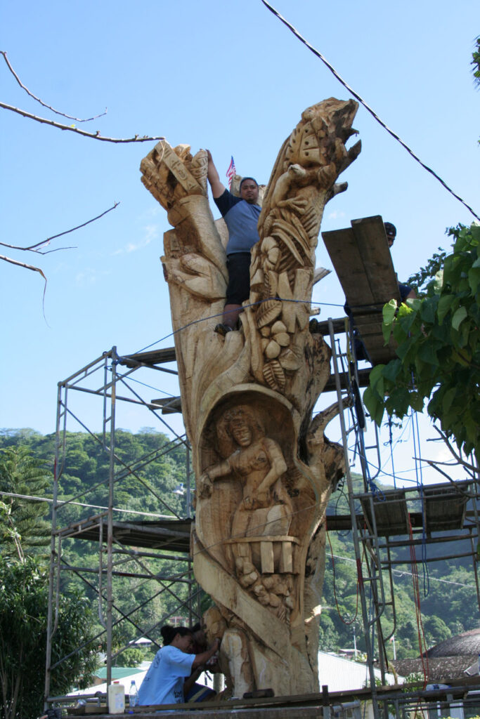 Carving Tree