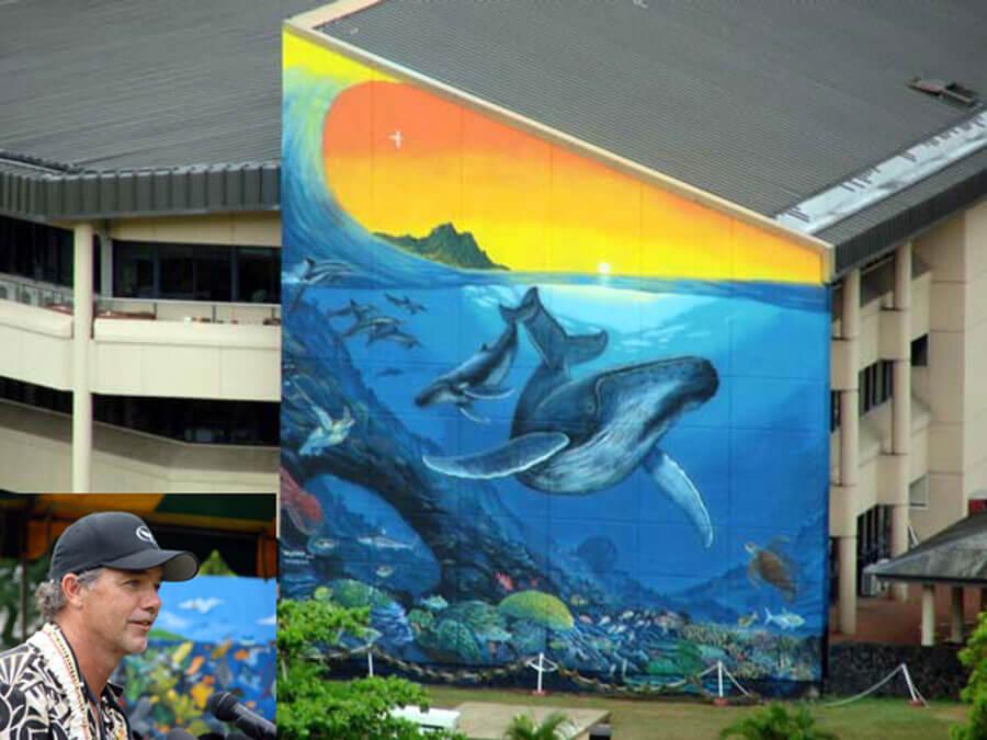Wyland Mural on EOB