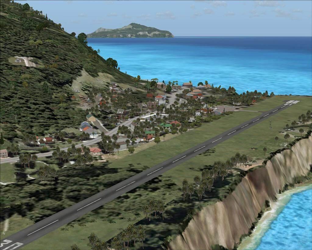 Fitiuta Airport on Tau