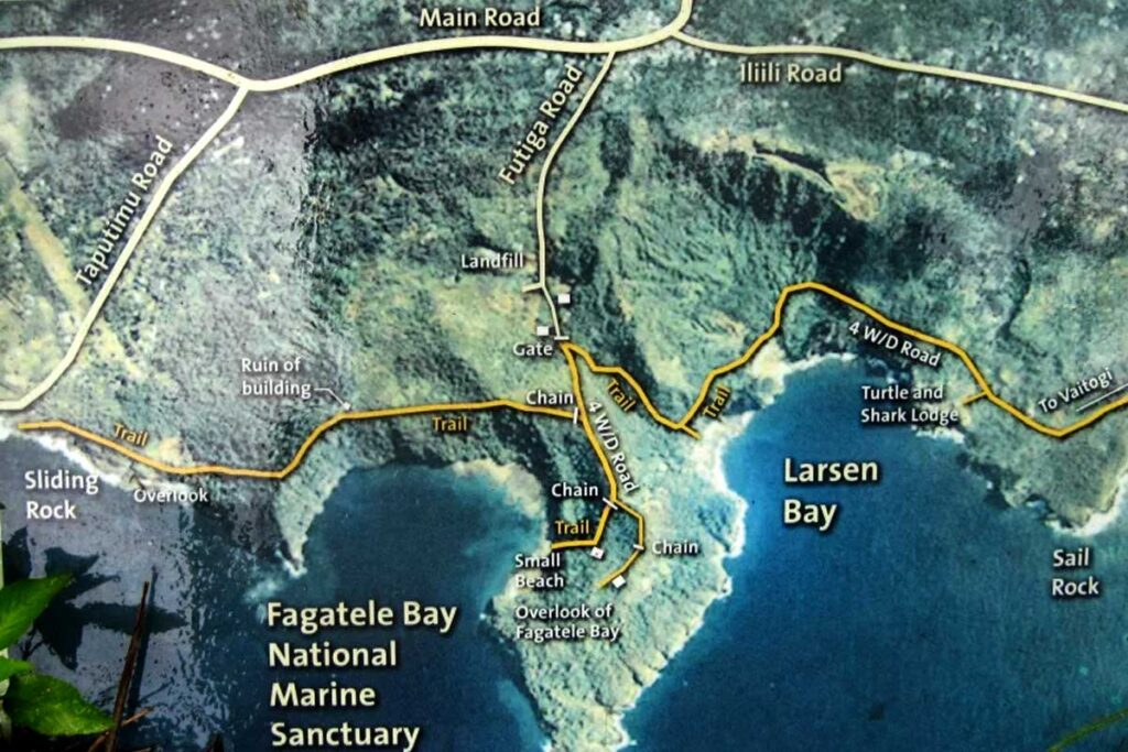fagatele bay trail